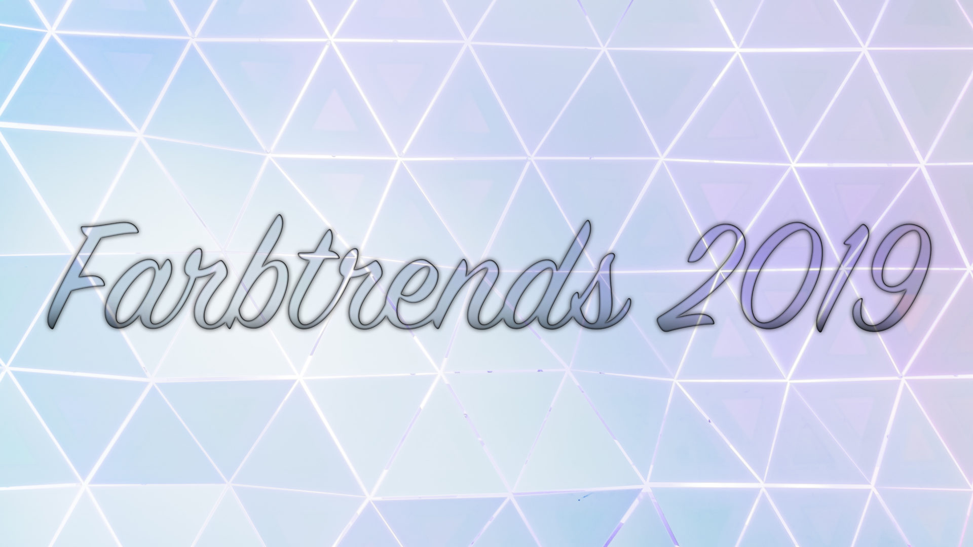 Farbtrends 2019 – Pastelle mit Charme