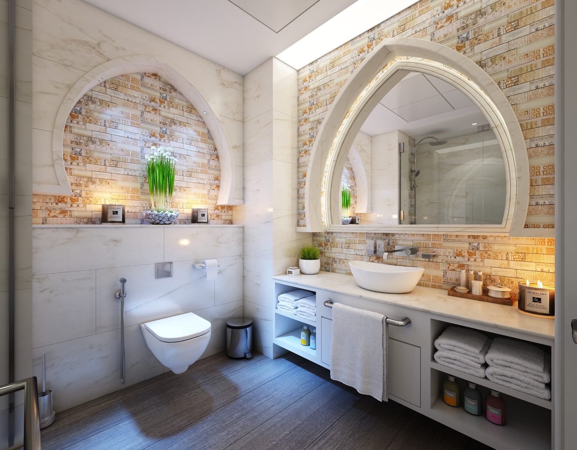 Badezimmer Ideen: Die besten Einrichtungs- und Dekotipps ...