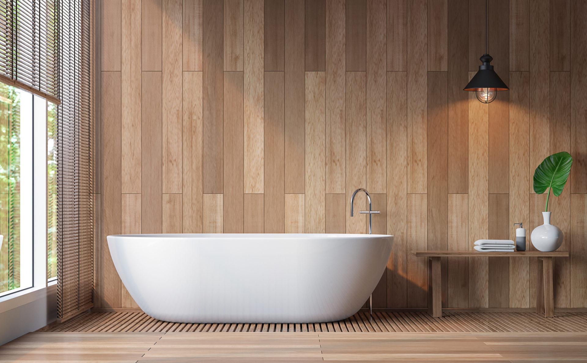 Badmöbel aus Holz – Naturnah wohnen und einrichten