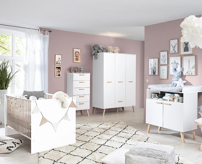 Skandinavisch Wohnen mit den Babyzimmer Möbeln MANISA-19