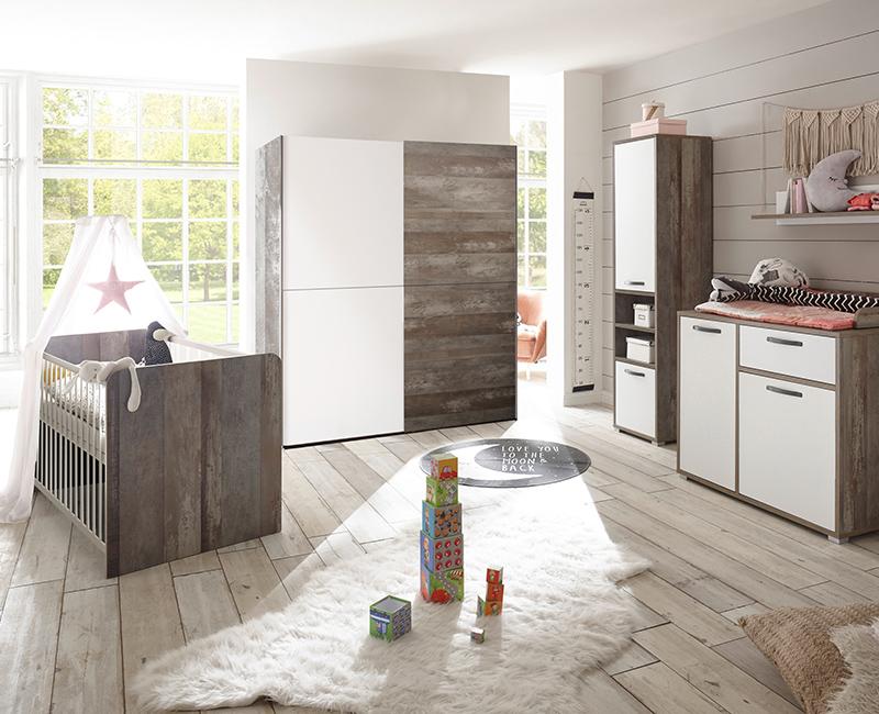 Babyzimmer Ideen für den Wohnstil Country mit Möbeln aus der Serie MAUI-78