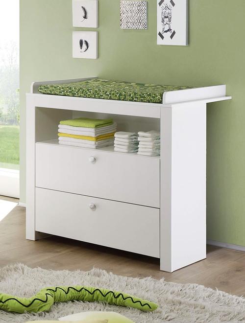 Wickelkommode weiß aus der Möbelserie OLBIA-19