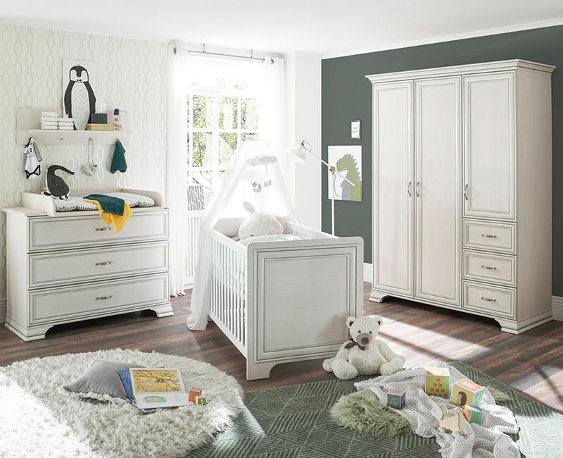 Möbel im Vintage Stil für das Babyzimmer aus der Serie VALENCIA-78
